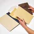 Archival Products Manuscript Folder Instructions Step 1