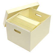Heavy Duty Record Storage Box by Archival Products